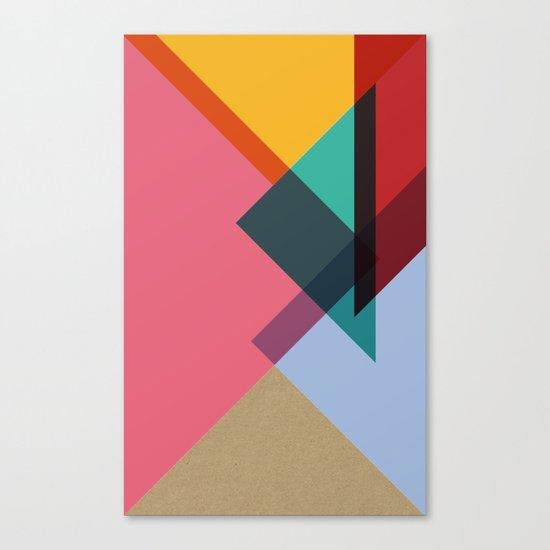 Triangles (Part 2) Canvas Print
