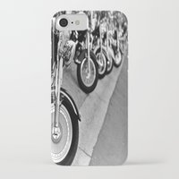 bikes iPhone & iPod Cases featuring Bikes by M. Gold Photography