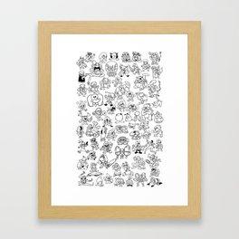 Super Smash Bruhs Framed Art Print