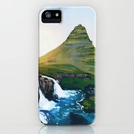 Mountain - Falls - Wanderlust iPhone Case