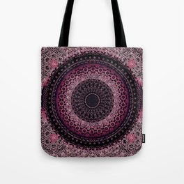 Rosewater Tapestry Mandala Tote Bag
