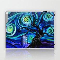 tardis starry night Laptop & iPad Skin