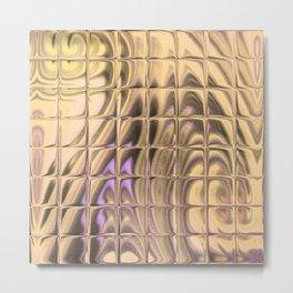 Square Glass Tiles 200 Metal Print