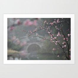 Plum Blossom Festival Art Print