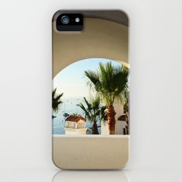 Hamilton Cove, Catalina Island-II iPhone Case