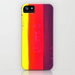 Hula Hooping Hippies iPhone Case
