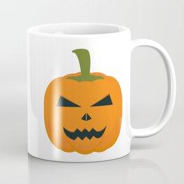 Evil Halloween pumpkin Coffee Mug