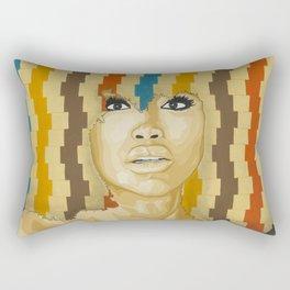 """Badu """"The Gaze"""" Rectangular Pillow"""