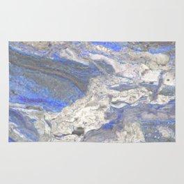 Arabescato-Orobico-Blue-Marble Rug