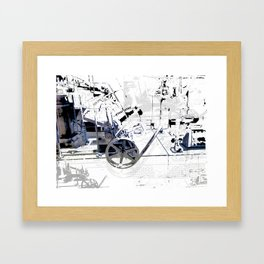 Cotton Spin  Framed Art Print