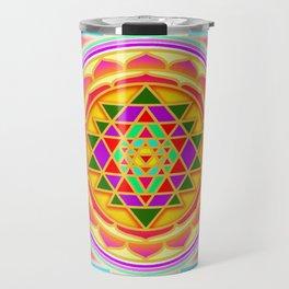 Shri Chakra Travel Mug