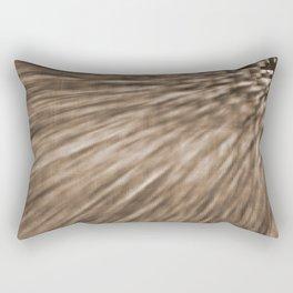 Taupe Pixel Wind Rectangular Pillow