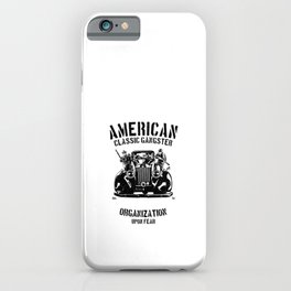 American Classic Gangster iPhone Case