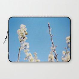 Blue Blossoms Laptop Sleeve