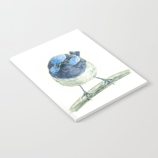 Fairy wren bird Notebook
