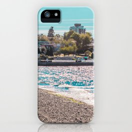 I see an island. iPhone Case