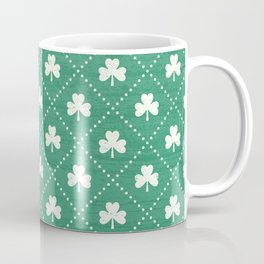 SHAMROCK ON! - emerald Coffee Mug