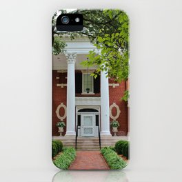 Kenan House Front View iPhone Case