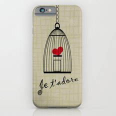 Je t'adore iPhone 6s Slim Case
