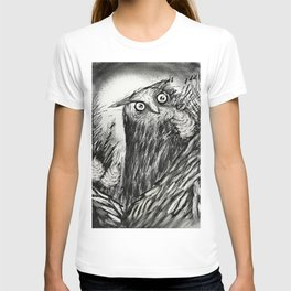 Owl In The Pines   T-shirt