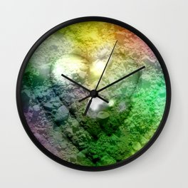 Love Stones Wall Clock