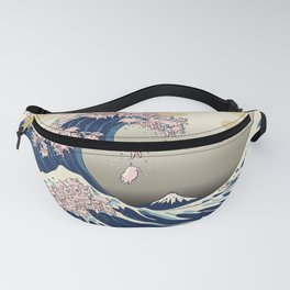 The Great Wave of Pigs Fanny Pack