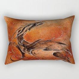 Sandstorm Dragon Rectangular Pillow