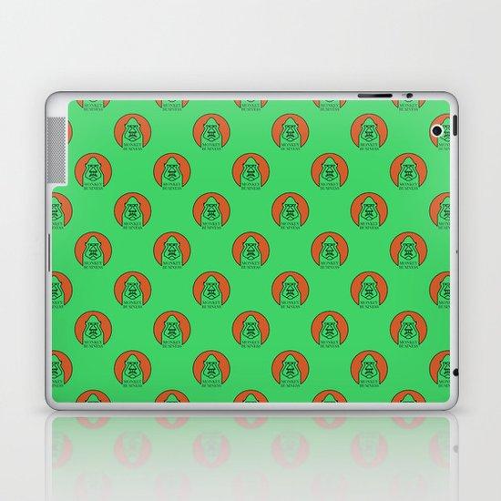 Monkey Business Green Laptop & iPad Skin