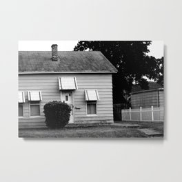 the house on the end of cabbage drive Metal Print