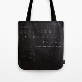 Infinite & Chaotic & Cold Tote Bag