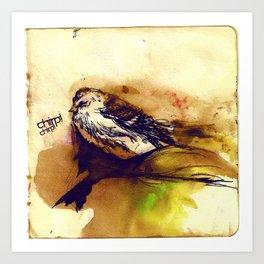 Chirp Art Print