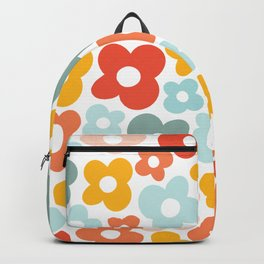 pompomjukebox Flower Power Backpack