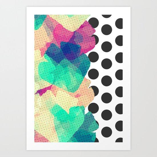 The Fall Patterns #2  Art Print