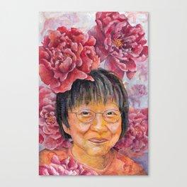 Women of Valor: Yan Yongchun Canvas Print