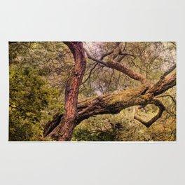 Dancing tree Rug