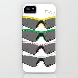 Tour de France Glasses iPhone Case