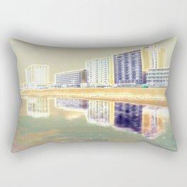 Oceanfront Reflections Rectangular Pillow