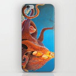 King Octopus iPhone Skin