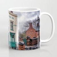 bar Mugs featuring Victorian Bar by Adrian Evans