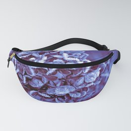 Ultra Violet Ice Crystal Poetry Fanny Pack