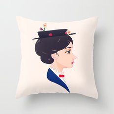 A Spoonful of Sugar Throw Pillow