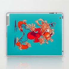 THE FLYING SPAGHOOFY MONSTER Laptop & iPad Skin