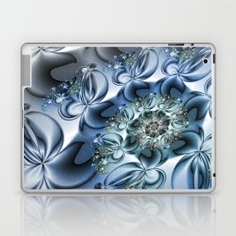 Dynamic Spiral, Abstract Fractal Art Laptop & iPad Skin