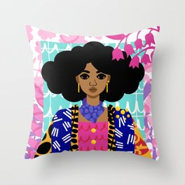 Jungle Throw Pillow