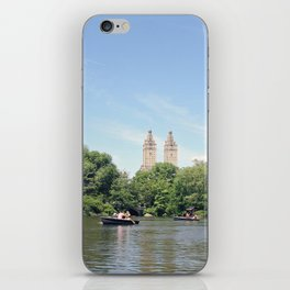 Central Park Lake iPhone Skin