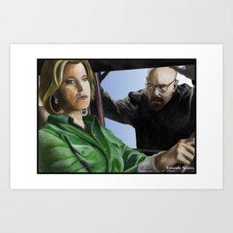 Skyler Art Print