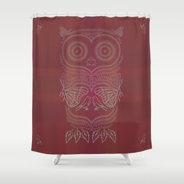 O&P: Nature's Owl Shower Curtain