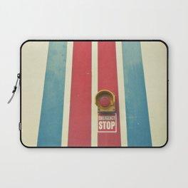 Emergency Stop Laptop Sleeve