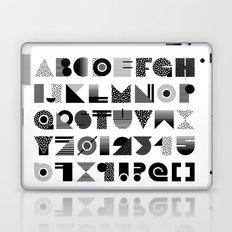 Memphis Type Laptop & iPad Skin