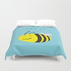 Let it bee. Duvet Cover